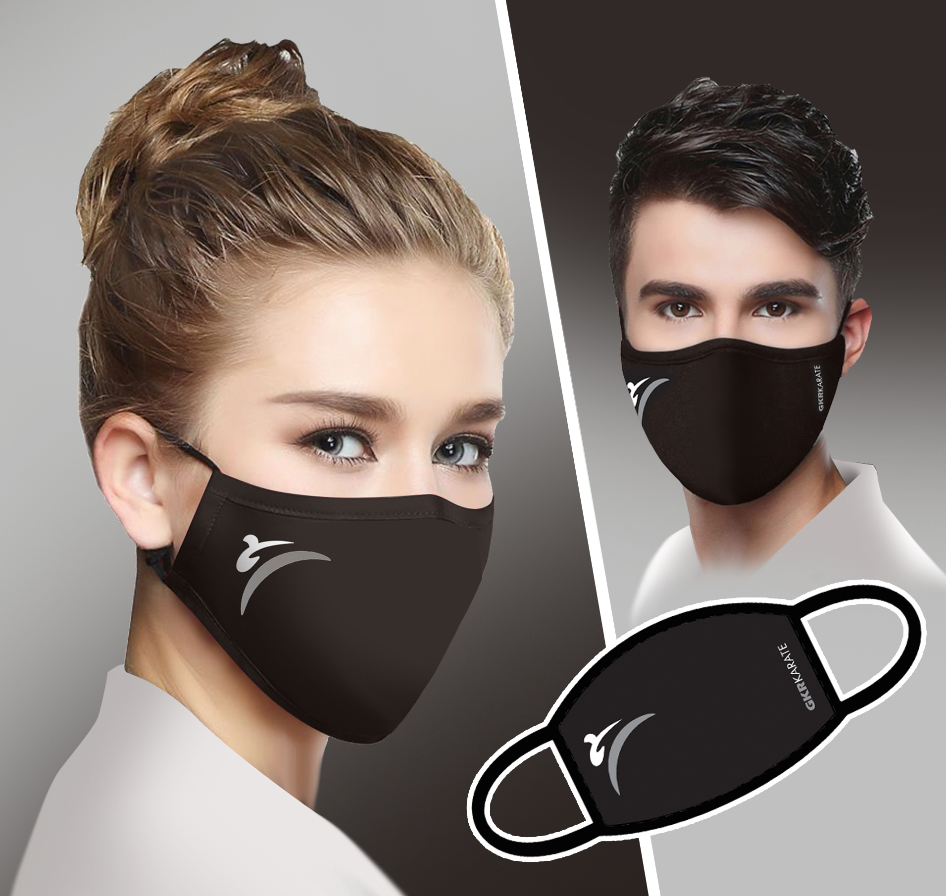 Limited Edition GKR Karate Face Mask